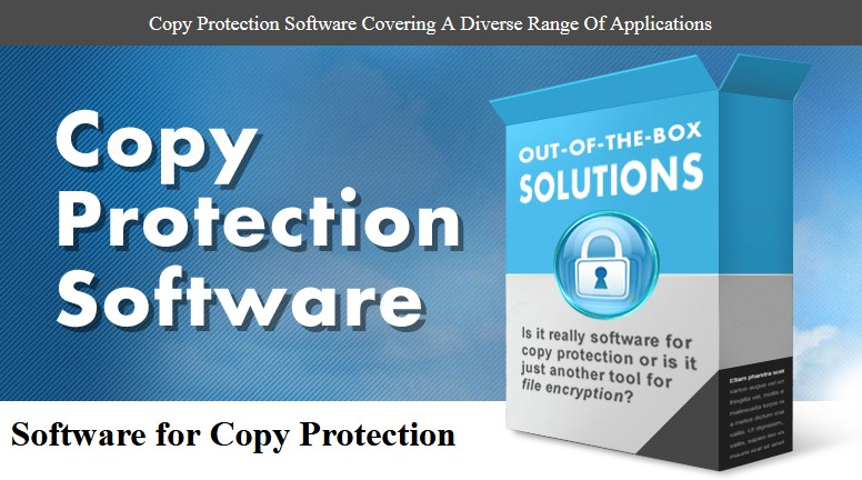 Copy Protection Software For Documents